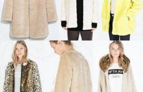 Tendencia en abrigos de piel sintética moda 2015