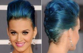 Tendencia en colores raros para el cabello