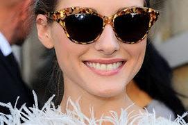 Las gafas cat eye son ultima tendencia