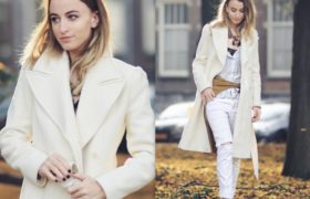 Blanco total para el invierno: Tendencia invierno 2015