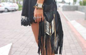 Opciones para lucir flecos en las prendas: Tendencia 2015