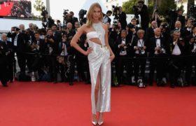 Tonos metalizados: tendencia en el festival de Cannes 2015