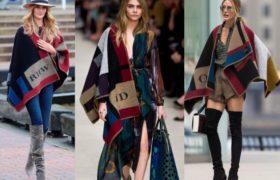 Ponchos y capas, los abrigos estrella de esta temporada