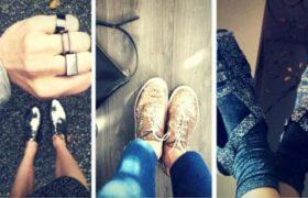 Zapatos brillantes y metalizados: Nueva tendencia!
