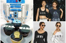Coleccion de ropa para las chicas fanaticas de Star Wars