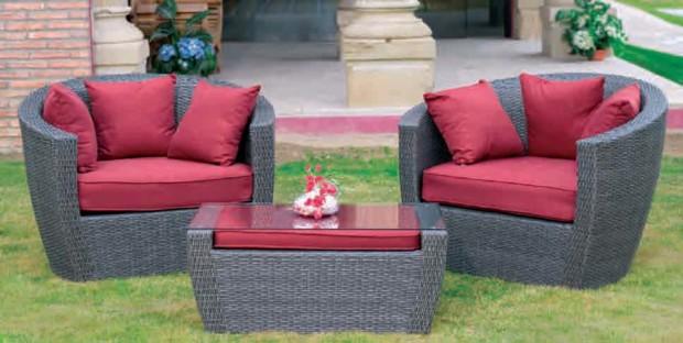Tendencia en muebles rattan para exterior o interior for Mobiliario jardin rattan