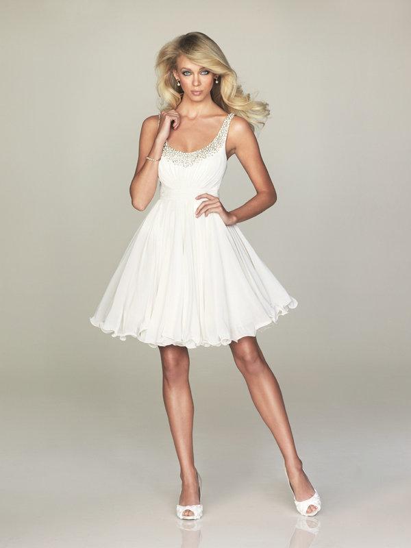 vestidos cBest-Buying-2013-Strappy-Beaded-Chiffon-A-line-font-b-Short-b-font-Mini-font-b