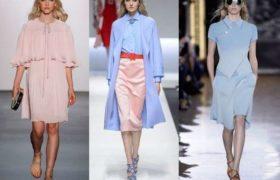 Colores que dominan la moda, Rosa cuarzo y Serenity