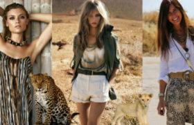 Moda Safari, la tendencia para el verano 2016/2017
