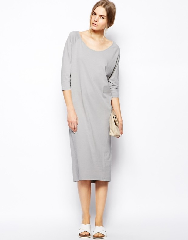 selected-mallie-midi-dress-in-jersey-gray-original-58344