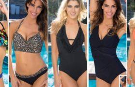 Trajes de Baño, mallas y bikinis de moda temporada verano 2017