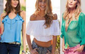 Blusas de mujer 2017: Anticipo