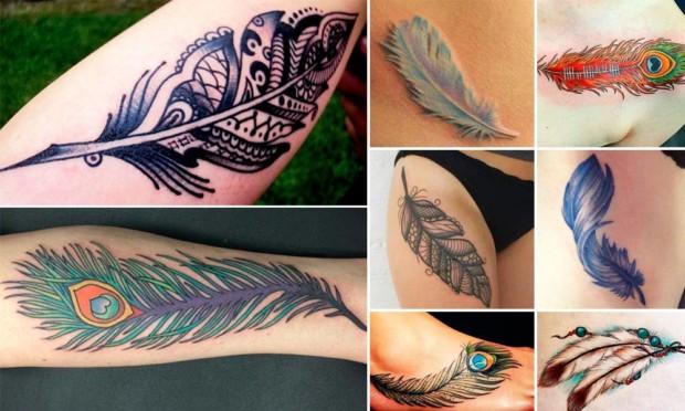 Tatuajes De Plumas Significado Y Fotos Para Inspirarse Moda Hoy