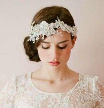 Peinados de novia vintage 2017
