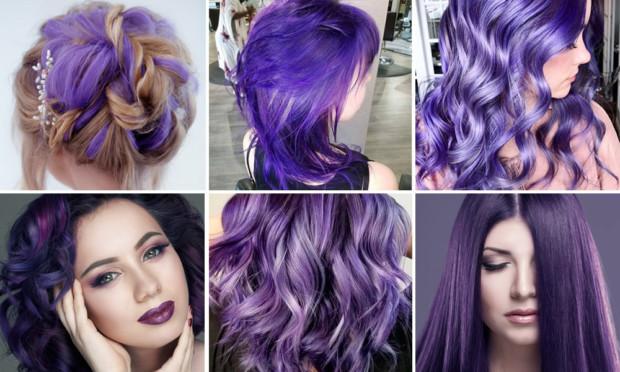 Cabellos ultra violeta tendencia peinados 2018 2019 for Tendencia de color de moda